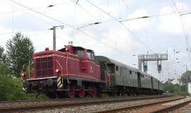 RuhrtalBahn fährt mit historischem Zug