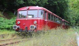 Historischer Schienenbus fährt ab Borken