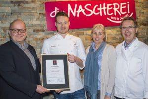 """Das beste Café in Westfalen 2015: """"Die Nascherei"""" - made by Café Lentz in Minden"""