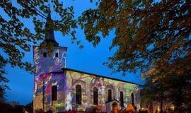 Stadt erstrahlt beim Lichtkunstfestival