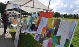 Kulturmeile: Kunst im Park in Lüdinghausen