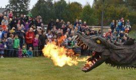 Herbstfest mit doppelter Drachen-Kraft