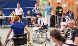 Rollstuhlbasketballturnier in Herdecke