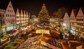 Lichterglanz für den Soester Weihnachtsmarkt