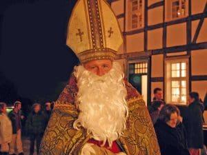 Freeilichtmuseum Hagen Weihnachtsmarkt: Der Nikolaus