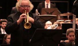 Dirigent Ulrich Schmidt wird verabschiedet