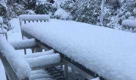 Der Winter kommt – Gartenmöbel bleiben