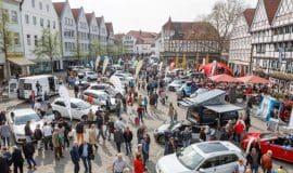 Altstadtfrühling Soest mit tollem Autosalon