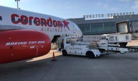 Erstflug von  Corendon Airlines am FMO