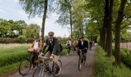 Tweed Run: Ausflug in Gütersloh