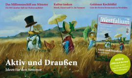 Westfalium Sommerausgabe ab 6.6. im Handel