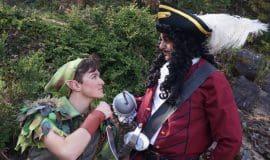 Peter Pan feiert Premiere auf der Freilichtbühne