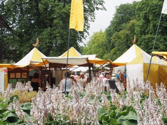 Auch auf dem Gartenfestival 2019 sind auf Ippenburg wieder zahlreiche Aussteller dabei
