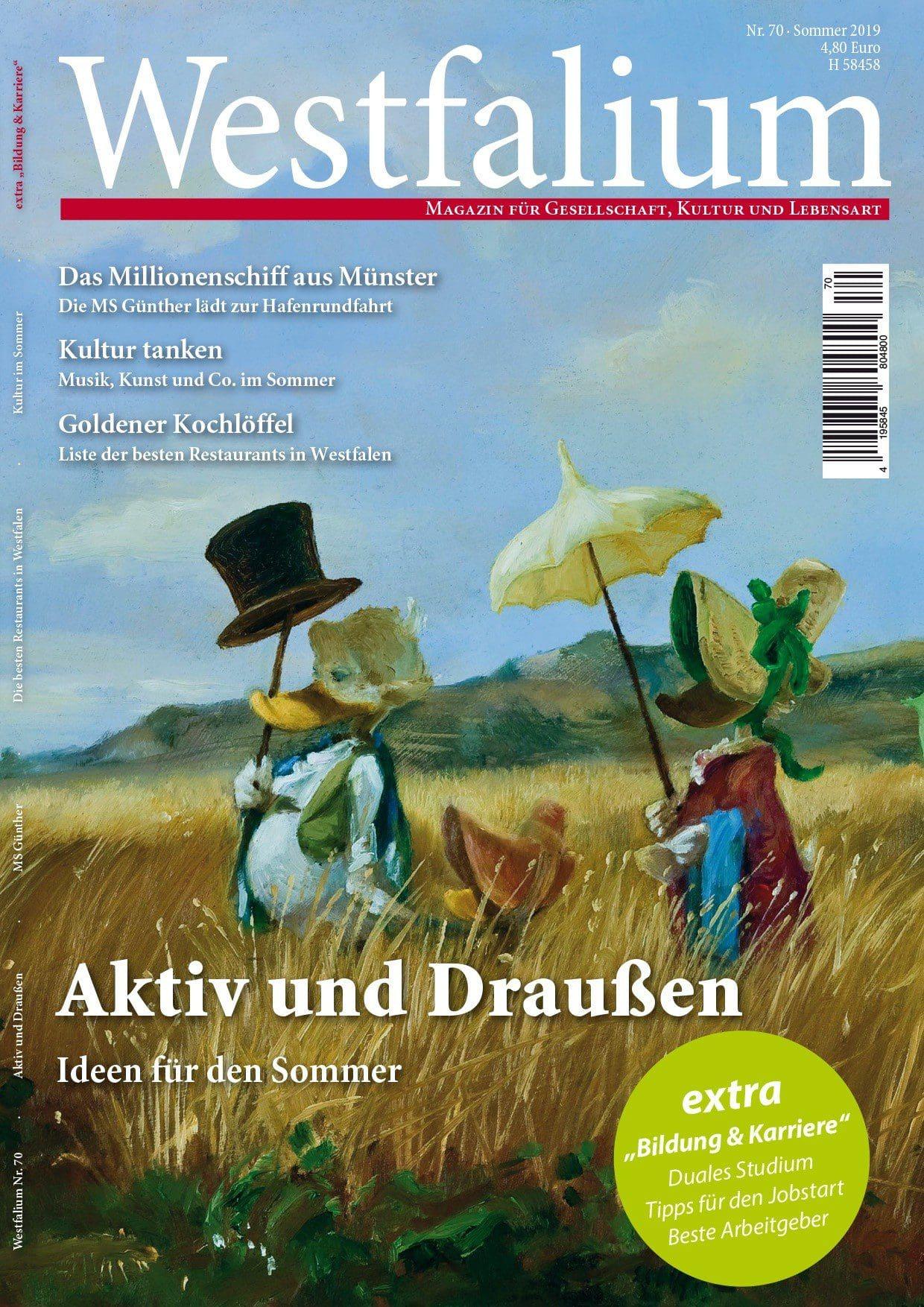 WESTFALIUM - Westfalen-Magazin - Ausgabe Sommer 2019