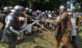 Burg Vischering wird wieder belagert