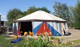 Münster: Zeltfestival am Kulturquartier