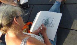Urban Sketching am Torhaus Rombergpark