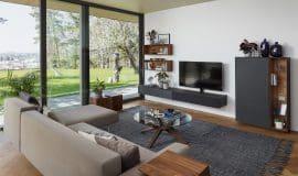 Natürlich und individuell: ein Wohnzimmer mit Wohlfühl-Faktor