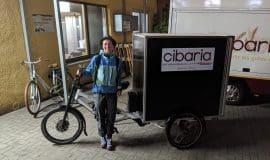 Mit dem BrotBike in 762 KM von Tübingen nach Münster – Ein neues Elektro Lastenrad für die BioVollkornBäckerei cibaria