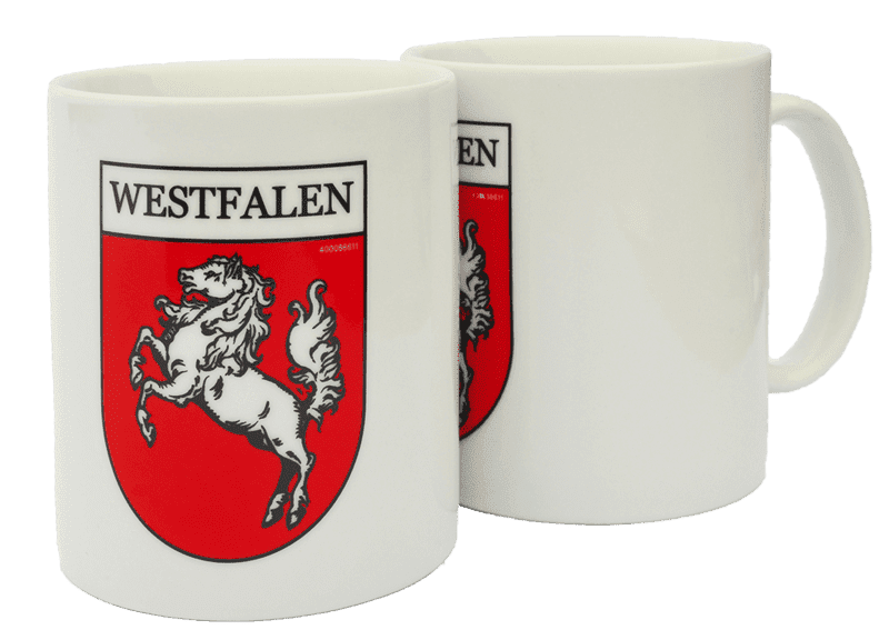 """Kaffeepott """"Westfalen"""" - für heiße Sachen"""