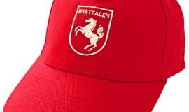 Westfalen Cap - Pferd auf dem Kopf