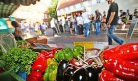 Start für Bielefelder Abendmarkt am 02. April