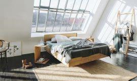 Schlafzimmer mit Wohngefühl bei TEAM7