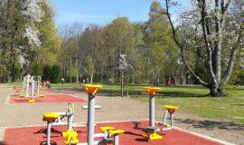 Kurpark Westernkotten mit neuem Fitnessangebot