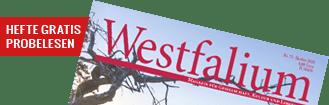 Westfalium zum anfassen - kostenloses Probe-Abo bestellen!