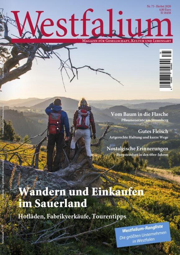 Westfalen-Magazin - Westfalium - Magazin für Gesellschaft, Kultur und Lebensart in Westfalen