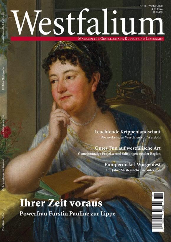 Westfalium Ausgabe Winter 2020 - Das Westfalen Magazin