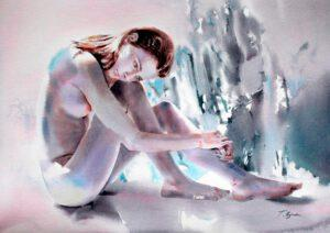 Galerie Spiegel zeigt Aquarelle