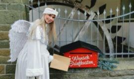 Wunschzettel-Briefkasten für den Nikolaus