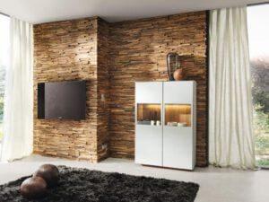 Naturholzmöbel bringen Atmosphäre ins Haus