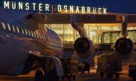 Fluggastzahlen am FMO eingebrochen
