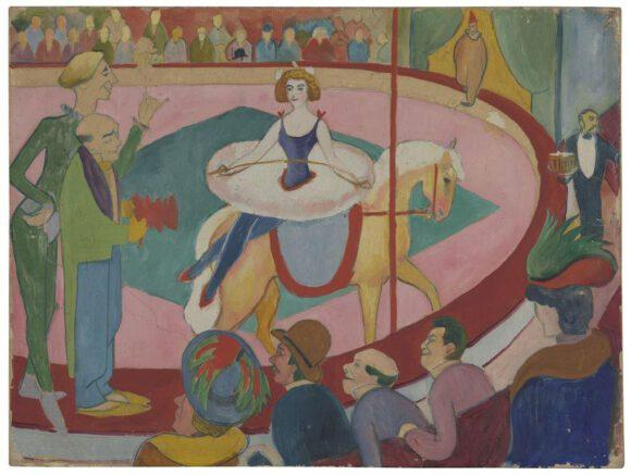 Macke-Ausstellung mit vielen Arbeiten