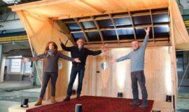 Neue Bühne für Wald- und Wiesenkonzerte