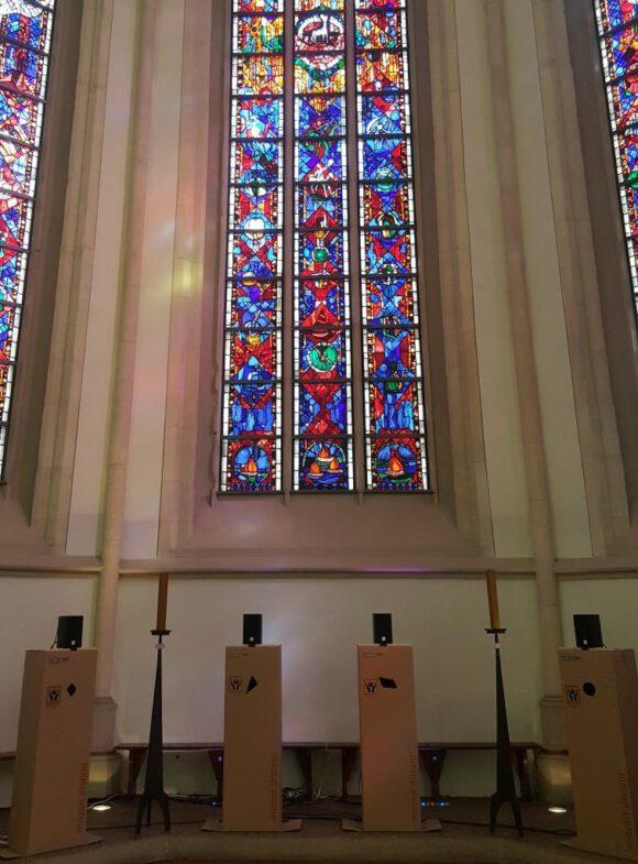 Mozart erkling im Kirchenraum