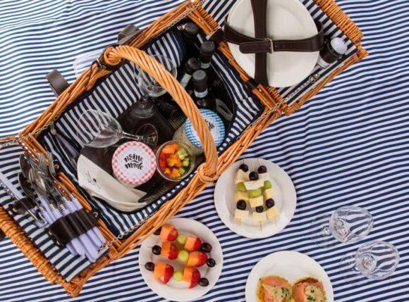 Picknickspaß von Studierenden neu gedacht