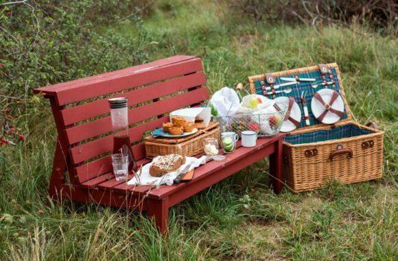 Picknickspaß mit ganz neuen Akzenten