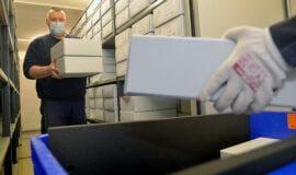 Historische Dokumente sind auf dem Weg…
