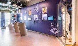 Mikroelektronik im neuen HNF-Ausstellungsbereich