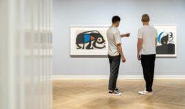 Picasso, Pollock und Matisse im Picasso Museum