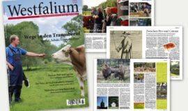 Das neue Westfalium-Heft: Jetzt im Zeitschriftenhandel