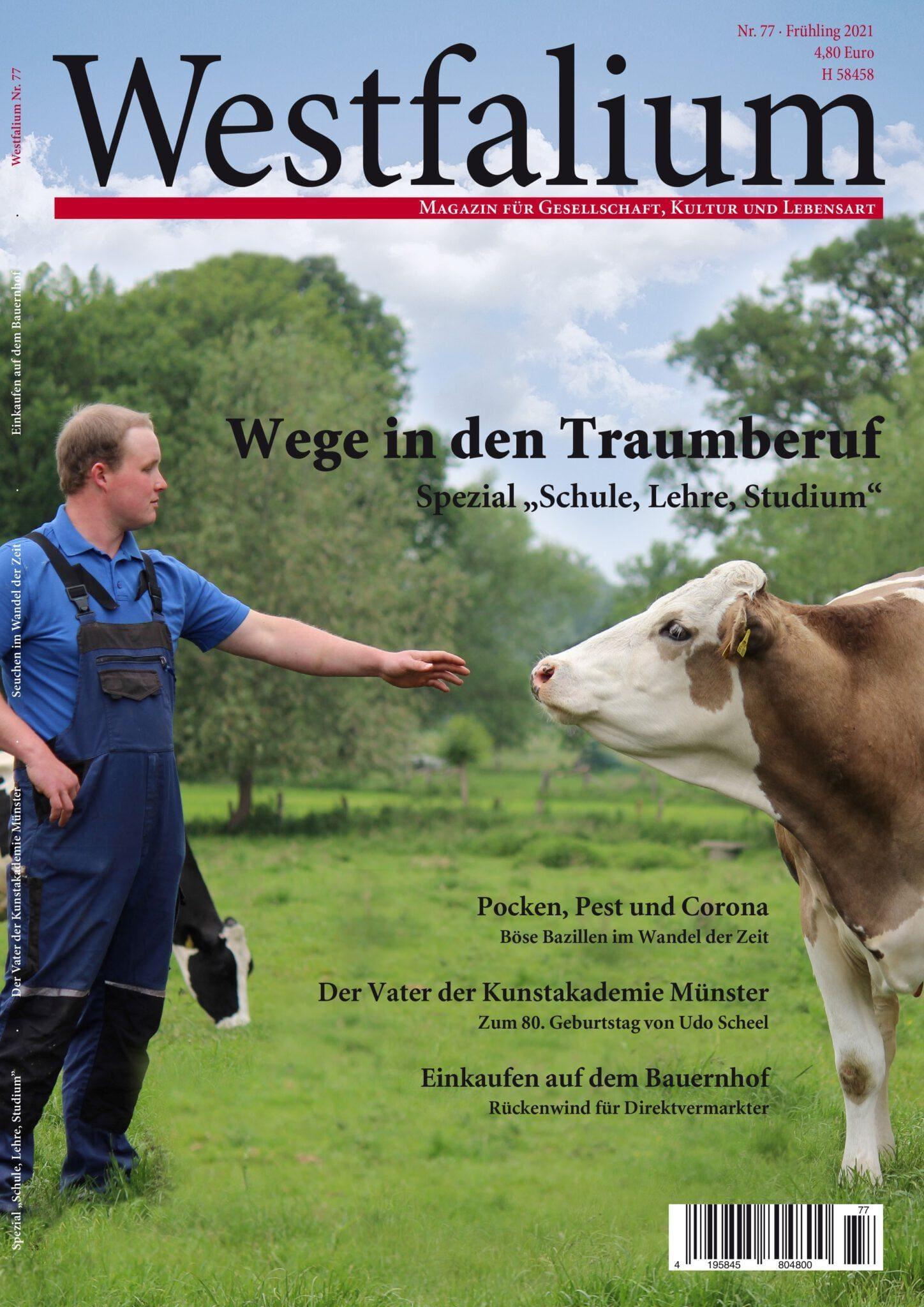Westfalium Westfalen Magazin Nr. 77 Titel - Frühjahr 2021