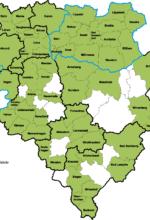 Teilnehmende Kommunen an der Klimakampagne im Regierungsbezirk Arnsberg