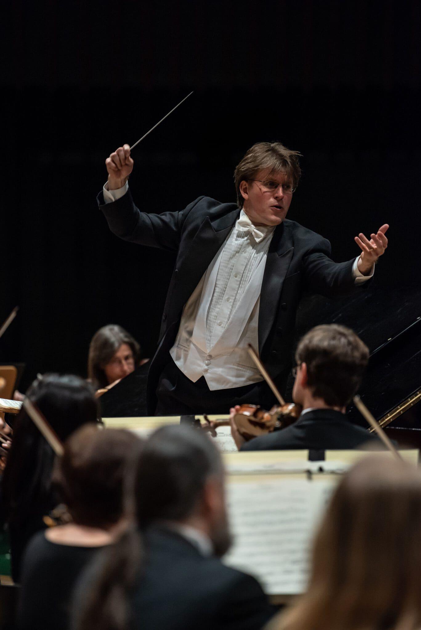 Joseph Trafton, Generalmusikdirektor am Theater Hagen - Foto Leszek Januszewski
