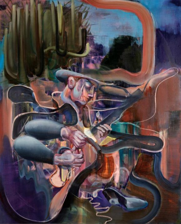 Justine Otto zeigt neue Gemälde