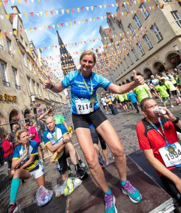 Münster-Marathon veranstaltet Lauftreff
