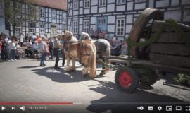 Feuerräder laufen virtuell in Lügde - Ostervideos 4/5